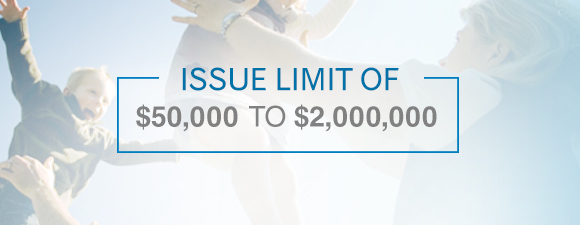 Issue limit of $50,000 to $2,000,000